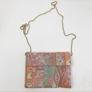 Vintage Shirl Miller Crossbody Pattern Purse